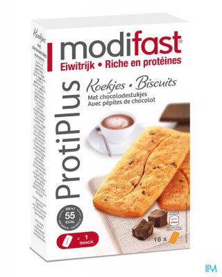 MODIFAST PROTIPLUS KOEKJE GRANEN-CHOCOLASTUK. 200G