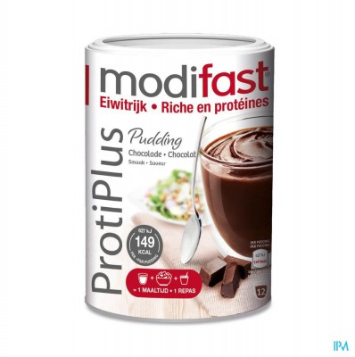 MODIFAST PROTIPLUS PUDDING CHOCOLADE 540G