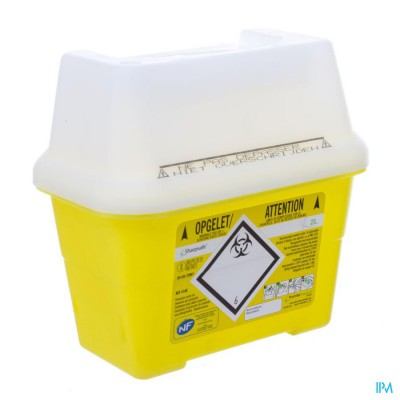SHARPSAFE NAALDCONTAINER 2L 4140
