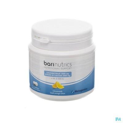 Barinutrics Calciumcitraat Citrus Kauwtabl 90