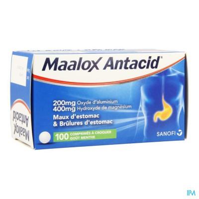 Maalox Antacid 200/400 Comp 100