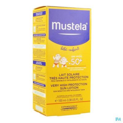 MUSTELA BB SL MELK ZEER HOGE BESCHEMING 50+ 100ML