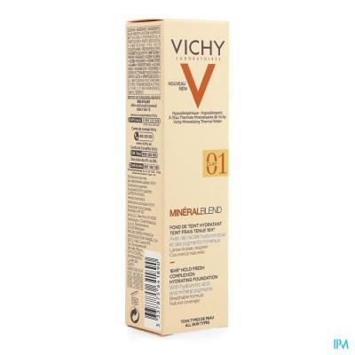 Vichy Mineralblend Fdt Clay 01 30ml