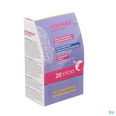 DYNARAX ENERGY STICKS 20