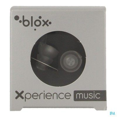 BLOX XPERIENCE MUSIC OORDOPPEN TRANSPARANT 1 PAAR