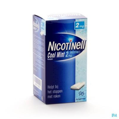 Nicotinell Cool Mint 2mg Kauwgom 96