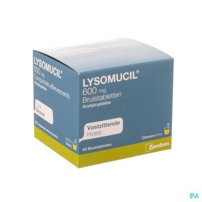 LYSOMUCIL BRUISTABL. 600MG 60