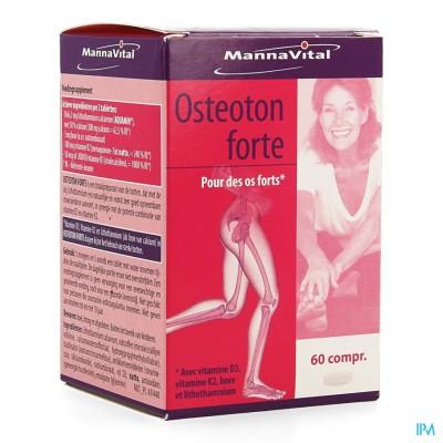 MANNAVITAL OSTEOTON FORTE COMP 60