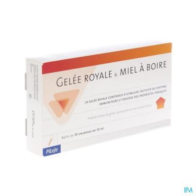 Koninginnebrij + Honing Bio Drinkb Unidose 10x10ml