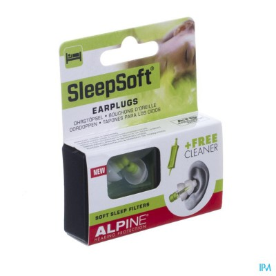 ALPINE SLEEPSOFT OORDOPPEN NEW 1P