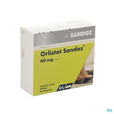 Orlistat Sandoz Harde Caps 84 X 60mg