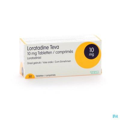 Loratadine Teva 10mg Comp 50 X 10mg