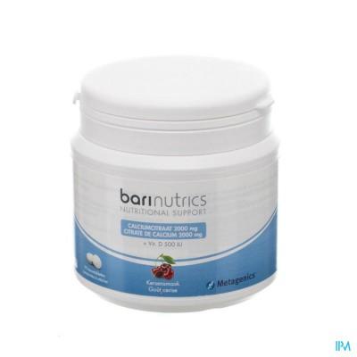 Barinutrics Calciumcitraat Kers Kauwtabl 90