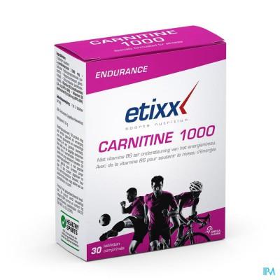 ETIXX CARNITINE TABL 30