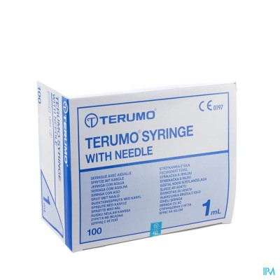 WWSP 1 ML TERUMO NLD 26G1/2 TU- 100 ST 0