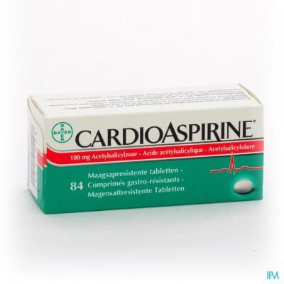 CARDIOASPIRINE MAAGSAPRESIST. TABL 84 X 100MG
