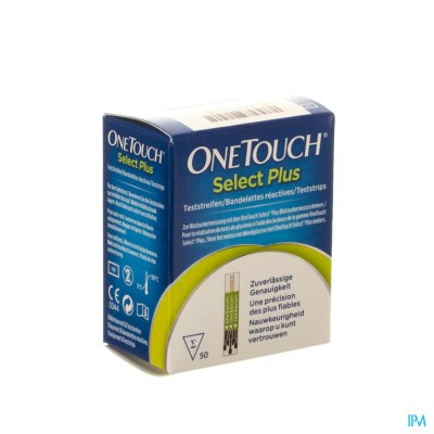 ONETOUCH SELECT PLUS TESTSTRIPS 50