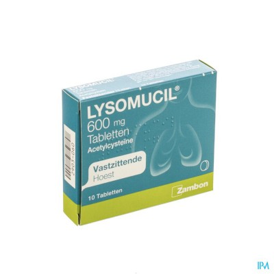 LYSOMUCIL 600 COMP 10 X 600 MG
