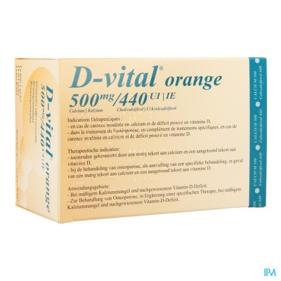 D VITAL 500/440 ZAKJES 30