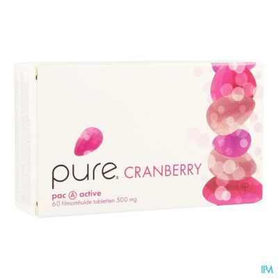 Pure Cranberry Tabl 60