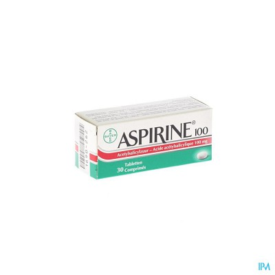 ASPIRINE 100 MG COMP 30