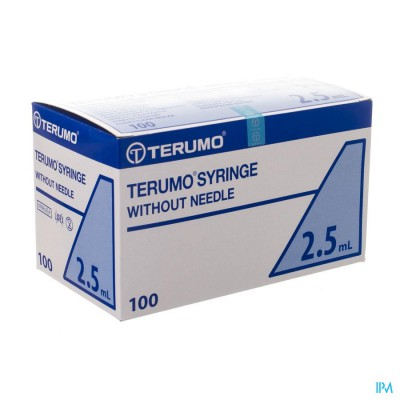TERUMO SPUIT LUER SLIPTIP 2ML 100