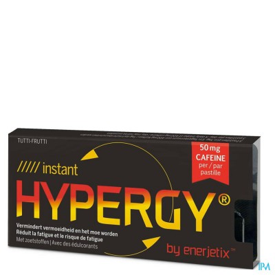 HYPERGY ENERJETIX INSTANT ENERG.TUTTI FRUTI PAST.6