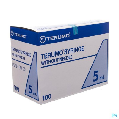 TERUMO SPUIT LUER SLIPTIP 5ML 100