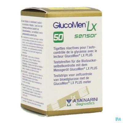 GLUCOMEN LX SENSOR STRIPS 50 39553