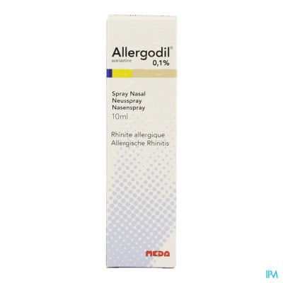 ALLERGODIL SPRAY NASAL FL 10 ML