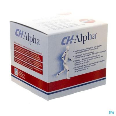 CH-ALPHA DRINKBARE AMP 30X25ML