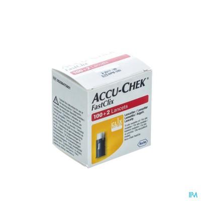ACCU CHEK MOBILE FASTCLIX LANCET 17X6 5208475001
