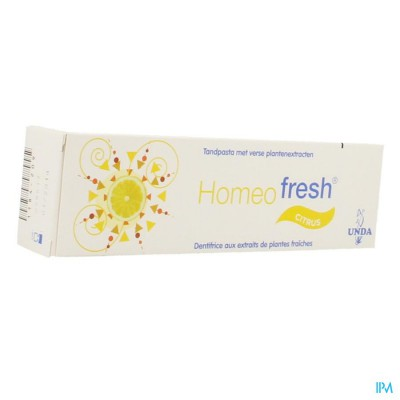HOMEOFRESH TANDP BIO CITROEN 75ML UNDA