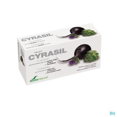 SORIA CYRASIL VIALS 14X10ML 6271
