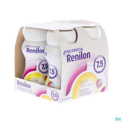 Renilon 7.5 Abrikoos Fles 4x125ml 570903