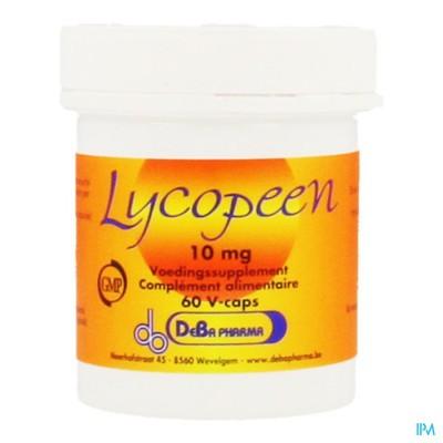 Lycopeen Caps 60x10mg Deba