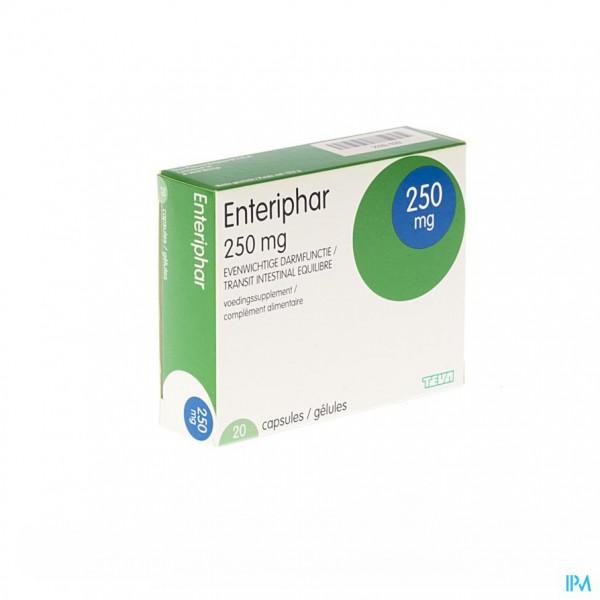 ENTERIPHAR CAPS 20X250MG